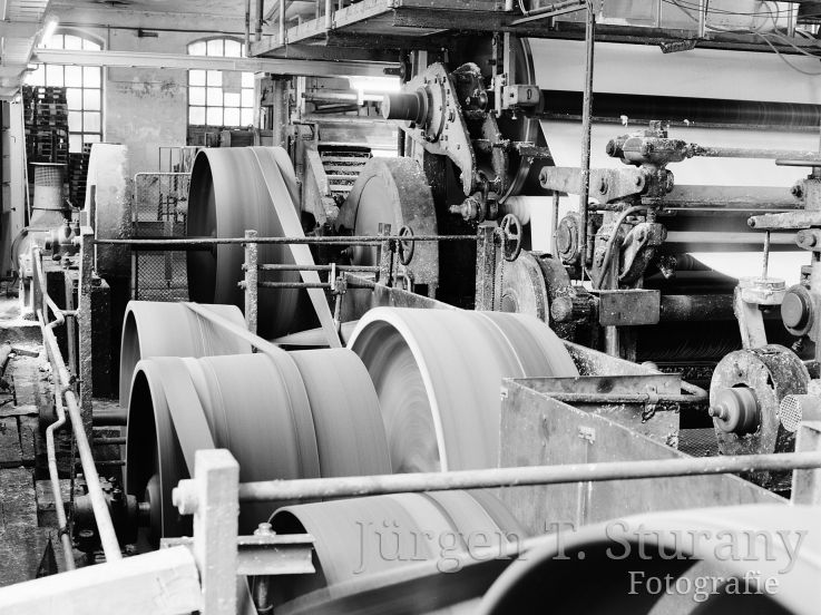Papiermaschinenantrieb, 1991