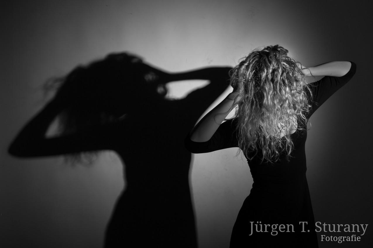Model – Anna Herzig, Wien 2017 – Hommage an Helmut Newton