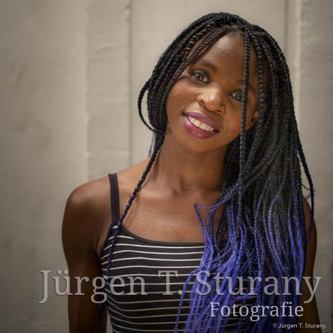 Junge Kenianerin – Wien 2019