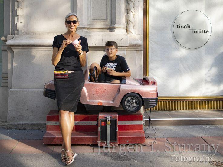 Sommer in der Praterstraße – Wien 2019