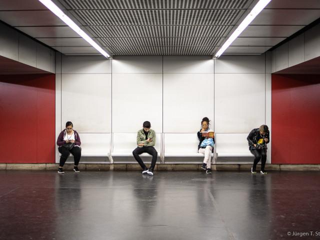 U-Bahn, Wien 2019