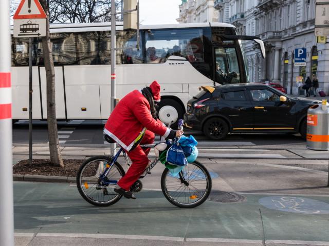 Weihnachtsmann – Wien 2016