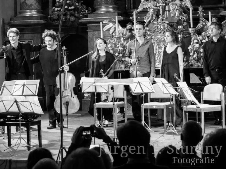 Nicolas Altstaedt & Musiker, Lockenhaus 2016